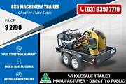 Tandem Machinery Trailer - GVM 2000 - 8x5 Epping Whittlesea Area Preview