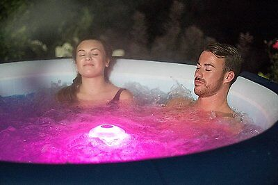 BESTWAY FLOWCLEAR - Lay-Z-Spa Hot Tub & Pool LED Floating Light Bath Disco Light