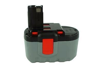 24V Akku für Bosch GST 24 V,GST 24 VH,PSB 24VE-2,SAW 24V,2 607...