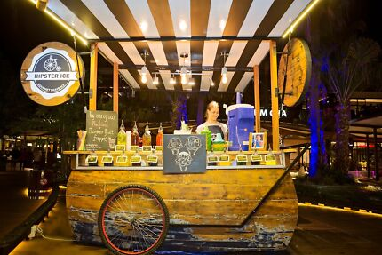 Handcrafted Coffee/Food Carts - As seen at Westfield & Eat Street Brisbane City Brisbane North West Preview