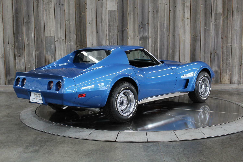 1975 Blue Chevrolet Corvette  L82   C3 Corvette Photo 4
