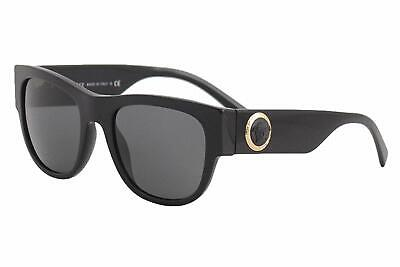 Versace VE4359 GB1/87 55mm Sunglasses Black / Grey Lens (THE CLANS)