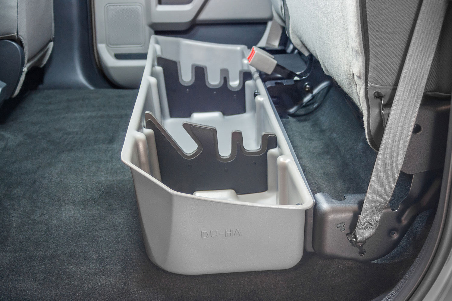 Du Ha 20111 Gray Under Rear Seat Storage For Ford F150