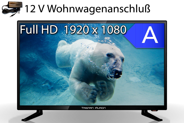 Full HD Fernseher LED TV 24 Zoll LCD DVB S S2 T2 C USB triple tuner