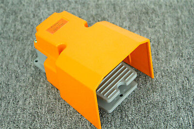 Heavy Duty Foot Switch Pedal Momentary 15a 250vac Spdt With Guard Cast Aluminum