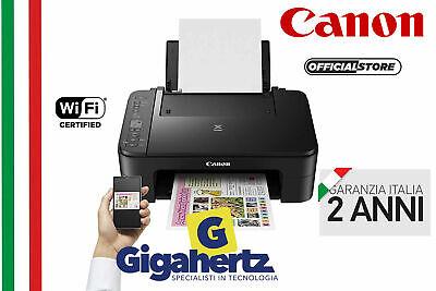 Stampante Canon Pixma 3350 WIFI Inkjet ORIGINALE GARANZIA ITALIA SENZA CARTUCCE