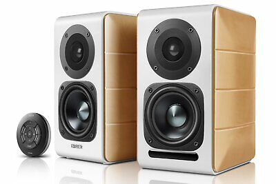 Edifier S880DB Active Hi Res Bookshelf Studio Speakers with Bluetooth