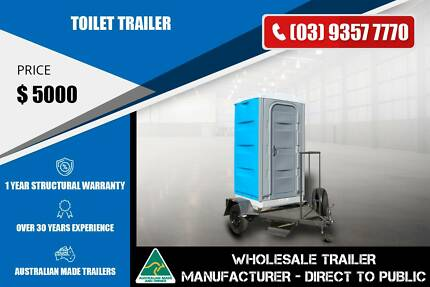 Single Axle Toilet Trailer Epping Whittlesea Area Preview