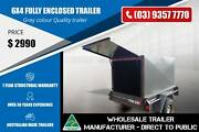 Fully Enclosed Trailer - 6x4 Epping Whittlesea Area Preview