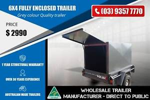 Fully Enclosed Trailer - 6x4