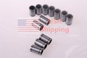12 X LM8UU 8mm Linear Ball Bearing Bush Bushing for 3D Printer CNC DIY