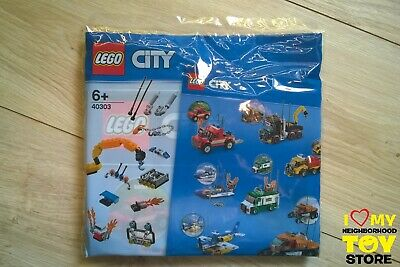 IN STOCK - LEGO 40303 POLYBAG CITY SET VEICOLI BOOST VEHICLE SET (2018) - NEW