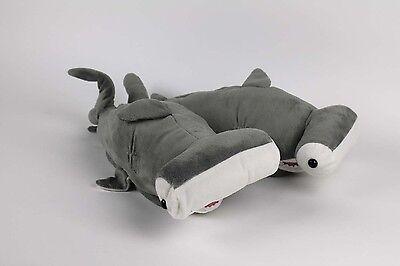 Hammerhead Shark Slippers - Gray Animal Slippers - Adult & Kids Sizes In Stock - Shark Slippers Adult