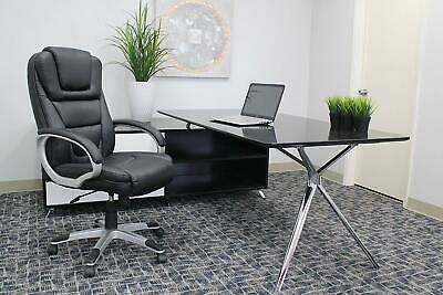Desk Chair Office Computer Gaming Leather Executive High Back Easy Assembly Seat Assemble Executive High Back Chair