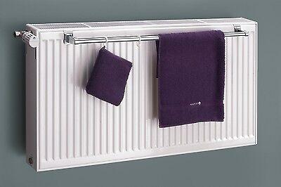 XIMAX Heizkörperzubehör Handtuchhalter für Kompaktheizkörper Chrom 540 mm