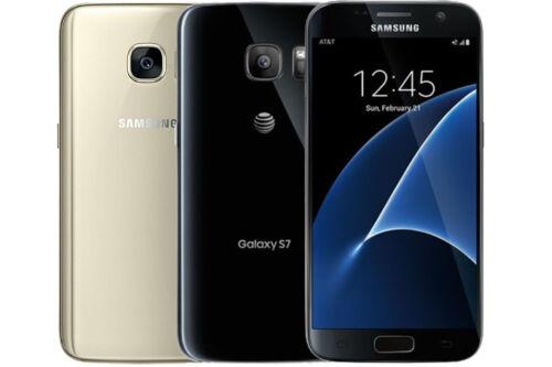 Samsung Galaxy S7 G930 GSM Unlocked 32GB Smartphone - Good Condition -Image Burn