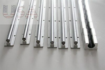 Sbr12-3006001000mm Linear Slide Guide 6 Rail12 Sbr12uu Bearing Block Cnc Set