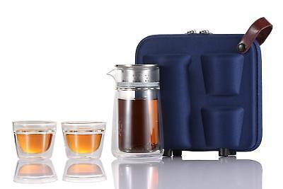 bottlebottle Portable Travel Teapot and Cup Set
