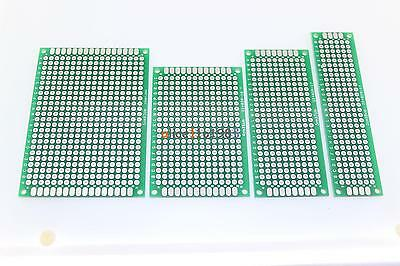 Circuit Boards & Prototyping 20X Double Side Prototype PCB Tinned breadBoard 5x7 4x6 3x7 2x8CM Each 1Pcs FR4 Electronic Components & Semiconductors