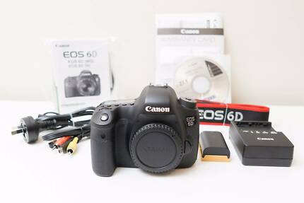 Canon EOS 6D Camera Body Only ~Excellent Cond ~Low Shutter Count