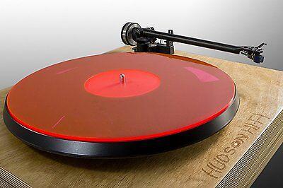 Audiophile Acrylic Turntable Mat | Krimson | Slipmat Made in USA Rega Pro-Ject