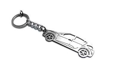 Keychain for Hyundai Veloster I Key Ring Car Design Coche Llavero Colgante Metal
