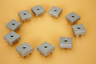 10pcs High Current 50a 1000v Metal Case Full Bridge Rectifier Kbpc5010 Usa