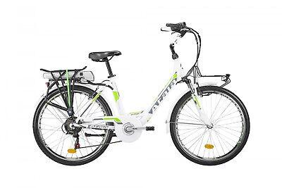 Bici Eléctrica Ebike Mujer Atala E-Run FS Lady 2018 Ecológica 317WH Pedaleo...