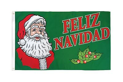 3x5 Feliz Navidad Christmas Holiday Decoration Banner Party Pennant New - Feliz Navidad Decorations