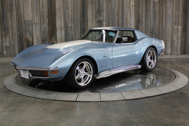 1972 Blkue Chevrolet Corvette     C3 Corvette Photo 2