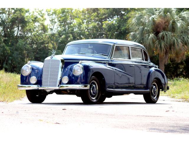 1952 Mercedes Benz 300 Adenauer W186 Fully Restored