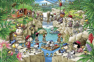 Jigsaw Puzzle PEANUTS Forest Expedition Snoopy 1000 pcs Epoch Japan 11-570