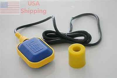 Float Switch Liquid Fluid Water Level Controller Sensor 2 Meter Cable