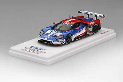 Ford GT #66 2016 24 Hr. Le Mans in 1:43 Scale by TSM   TSM430106
