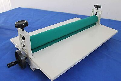 25 Manual Cold Roll Laminator Machine With All Metal Frame Hand Crank Pressure