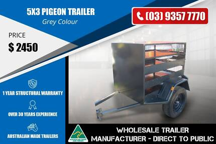 Single Axle Pigeon Trailer - 5x3 Epping Whittlesea Area Preview