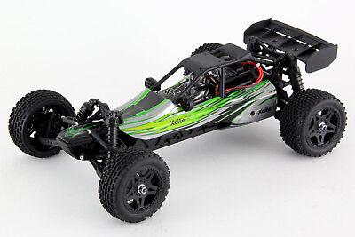 Ferngesteuertes RC Auto - XciteRC SandStorm one12 - 2WD RTR Buggy, grüne Karosse