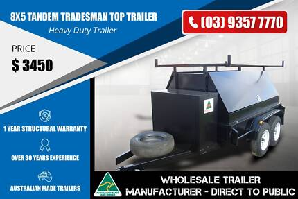 Tandem Tradesman Top Trailer - 8x5 Epping Whittlesea Area Preview