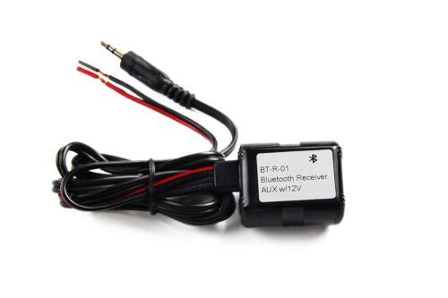 Novosonics Bluetooth Receiver Dongle AUX StereoAdapter Converter Automobile Car