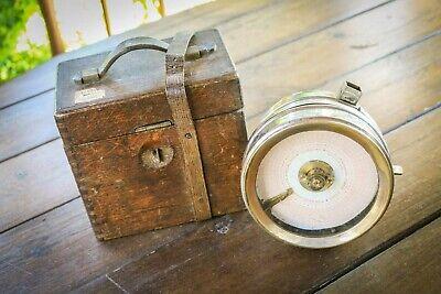 Antique - Pigeon Racing Clock - Cased - Boddy & Ridewood - Rare