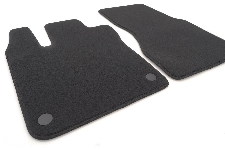 NEU Fußmatten Smart fortwo 453 Barbus Cabrio Original Qualität Velour Automatte