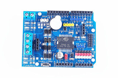 L298P Shield R3 DC Motor Driver Module 2A H-Bridge 2 Way F Arduino Uno Mega2560