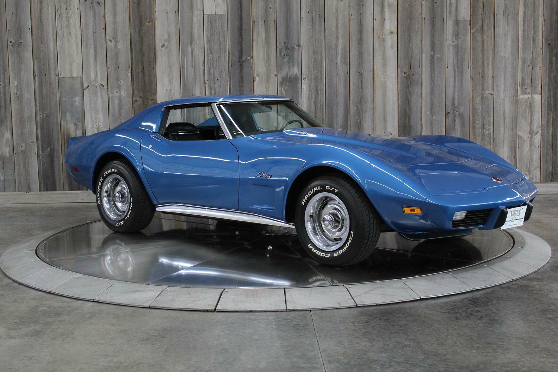 1975 Blue Chevrolet Corvette  L82   C3 Corvette Photo 6