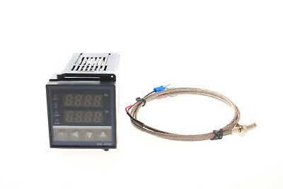 Pid Digital Temperature Control Controller Thermocouple Rex-c100 K Probe