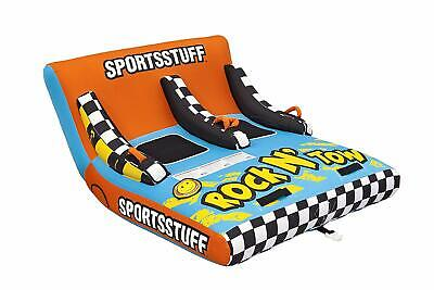 New SportsStuff Inflatable Rock N' Tow 53-5220 2 Rider -