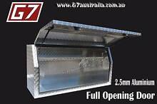 Aluminium Toolbox Full Opening Door to suit utes trucks trailers Brisbane City Brisbane North West Preview