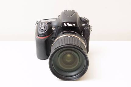 Nikon D800 36MP DSLR Came with Tamron 24-70mm F2.8 VC USD Lens