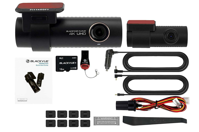 BlackVue DR900S-2CH 4K (128GB) UHD Cloud Wi-Fi GPS DASH-CAM