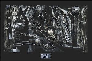 H.R. Giger fantasy art poster 24x36