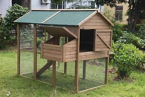 New Rabbit Chicken Guinea Pig Ferret Hutch House Cage Coop * ED05 Thomastown Whittlesea Area Preview